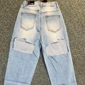 ripped distressed fashion nova jeans